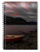 Wanaka Rowboat 2 Spiral Notebook