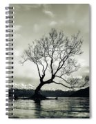 Wanaka Tree - New Zealand  Spiral Notebook