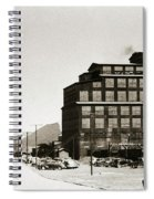 Wanamie Pa Wanamie  Number 18 Coal Breaker 1944 Spiral Notebook