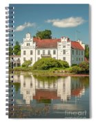 Wanas Castle And Reflection Spiral Notebook