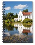 Wanas Slott And Lake Spiral Notebook