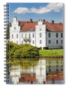 Wanas Slott With Reflection Spiral Notebook