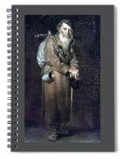 Wanderer H 1870 88h54 Am Gtg Vasily Perov Spiral Notebook