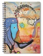 Wandering In Thought Spiral Notebook