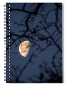 Waning Spiral Notebook