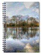 Wanstead Park Reflections Spiral Notebook