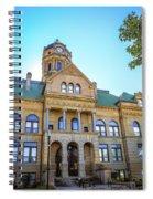 Wapakoneta Ohio Court House Spiral Notebook