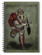 War Beast Spiral Notebook