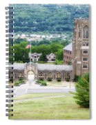 War Memorial Lyon Hall Cornell University Ithaca New York 01 Spiral Notebook