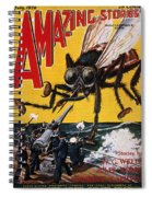 War Of The Worlds, 1927 Spiral Notebook