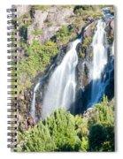 Waratah Falls Tasmania Spiral Notebook