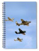 Warbirds Spiral Notebook