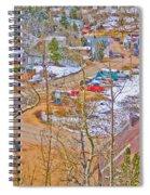 Ward Boulder County Colorado  Spiral Notebook