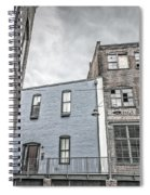 Warehouse Row Spiral Notebook