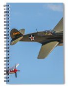 Warhawk And Sea Fury Spiral Notebook