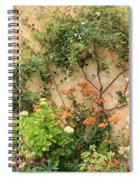 Warm Colors In Mission Garden Spiral Notebook