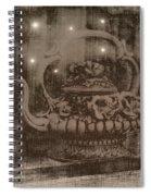 Warm Invite Spiral Notebook
