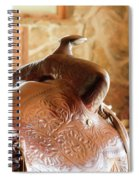 Warm Soft Brown Spiral Notebook