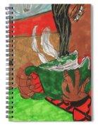 Warm Soup Spiral Notebook