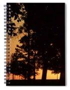 Warm Sunrise Spiral Notebook