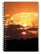 Warm Sunset Spiral Notebook