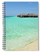 Warm Welcoming. Maldives Spiral Notebook