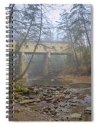 Warner Hollow Rd Covered Bridge Spiral Notebook