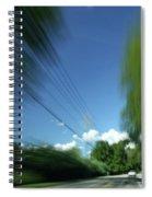 Warp Speed Spiral Notebook