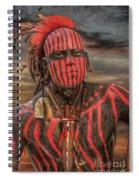 Warpath Shawnee Indian Spiral Notebook