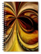 Warped Journey Spiral Notebook