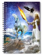 Warrior Bride Of Christ Spiral Notebook