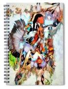 Warrior Dance Spiral Notebook