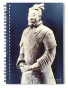 Warrior Of The Terracotta Army Spiral Notebook