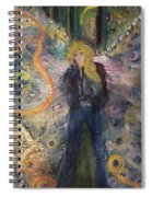 Warrior Woman Lean In Spiral Notebook