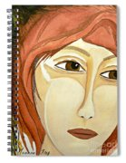 Warrior Woman - No Apologies Spiral Notebook