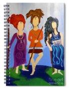 Warrior Woman Sisterhood Spiral Notebook