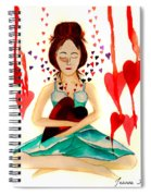 Warrior Woman - Tend To Your Heart Spiral Notebook