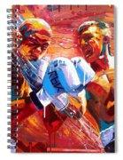 Warriors Spiral Notebook
