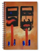 Warriors Spiral Notebook