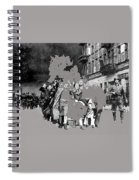 Warsaw Ghetto Uprising Number 1 1943 Color Added 2016 Spiral Notebook