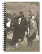 Warsaw Ghetto Uprising Number 2 1943 Color Added 2016 Spiral Notebook