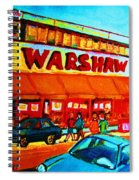 Warshaws Fruitstore On Main Street Spiral Notebook