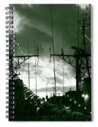 Warships At Twilight Spiral Notebook