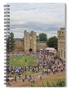 Warwick Castle Spiral Notebook