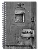 Wash Away Your Fears Spiral Notebook