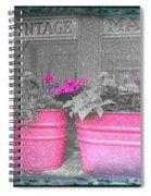 Wash Tub Planters Spiral Notebook