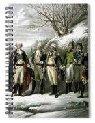 Washington And His Generals  Spiral Notebook