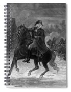 Washington At The Battle Of Trenton Spiral Notebook