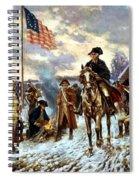 Washington At Valley Forge Spiral Notebook