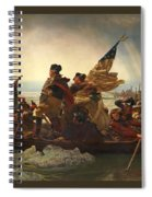 Washington Crossing The Delaware Spiral Notebook